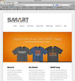 SMART - Think for the Cure - Join the Fight Against Stupidity